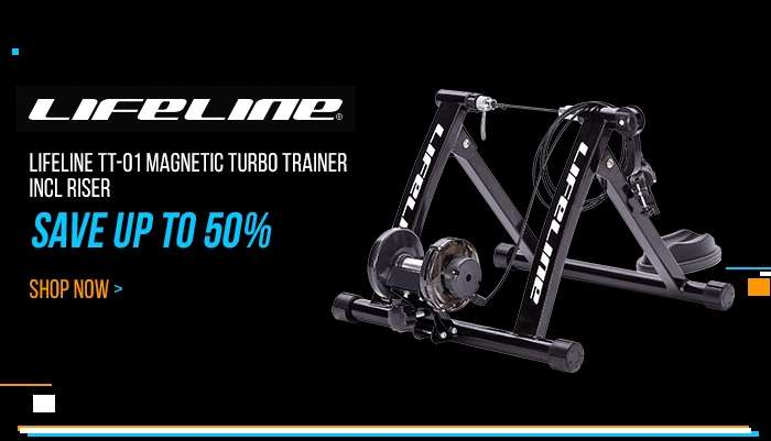 LifeLine TT-01 Magnetic Turbo Trainer incl Riser - Save up to 50%