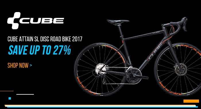 Cube Attain SL Disc Road Bike 2017 - Save up to 27%