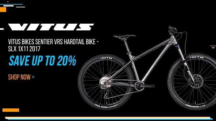 Vitus Bikes Sentier VRS Hardtail Bike - SLX 1x11 2017 - Save up to 20%