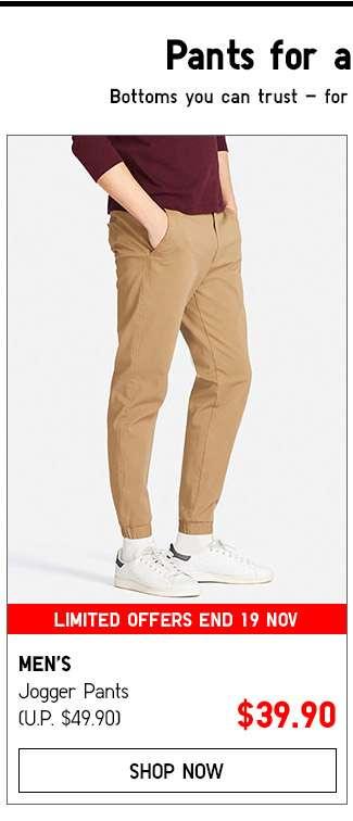 Men's Jogger Pants Collection