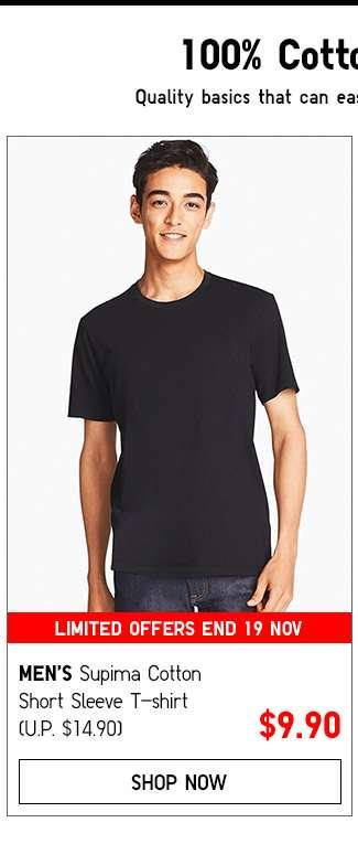 Men's Supima Cotton T-shirt Collection