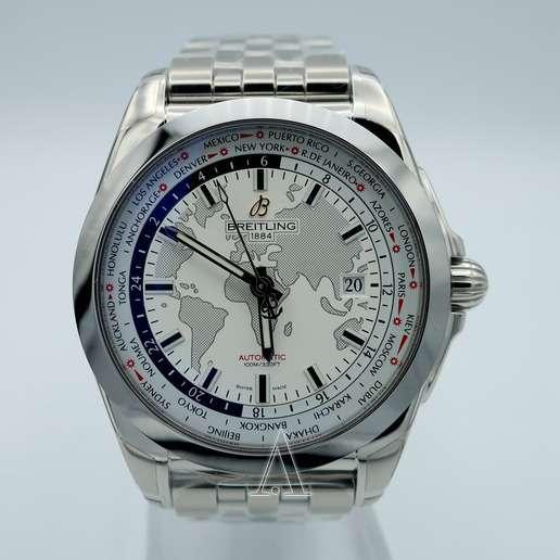 Men's  Breitling Galactic Unitime Watch