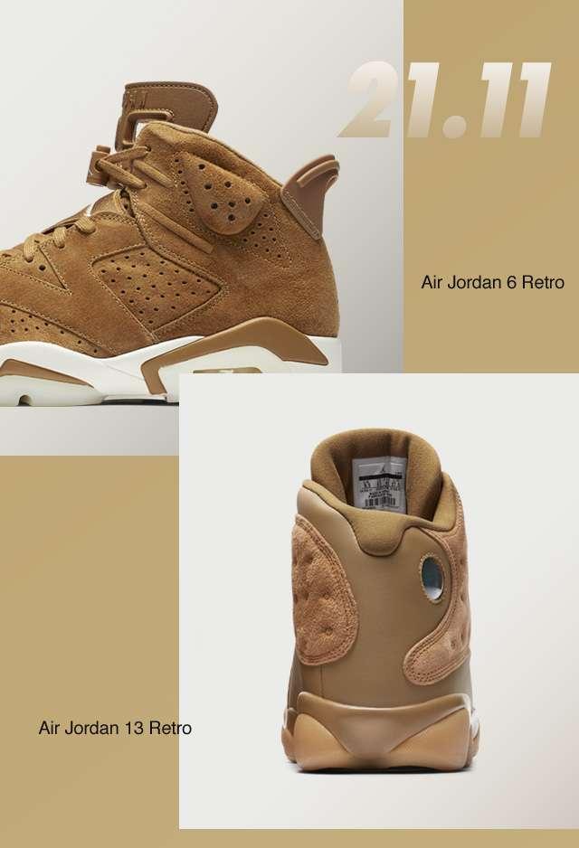 21.11 | Air Jordan 6 Retro | Air Jordan 13 Retro