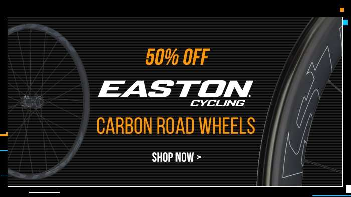 50% off EASTON Carbon Road Wheels