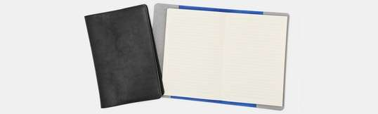 The British Belt Co. Leather A5 Notebook