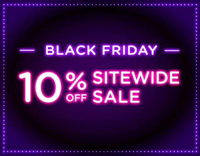 Black Friday Sale! Extra 10% Off Everything! Ends 27 Nov 2017 (min. spend US$65) | Auto-applied at checkout.