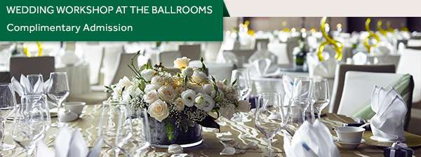 Wedding Workshop at The Ballrooms