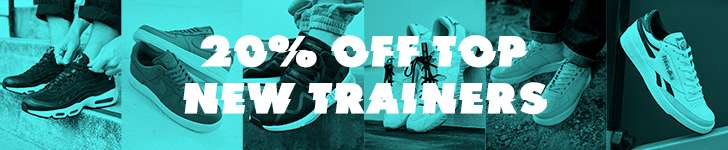 20% OFF TOP NEW TRAINERS