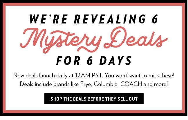 6pm Mystery Deals