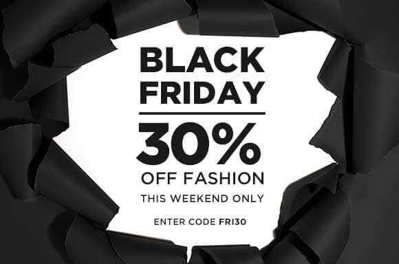 30% off Black Friday enter code FRI30