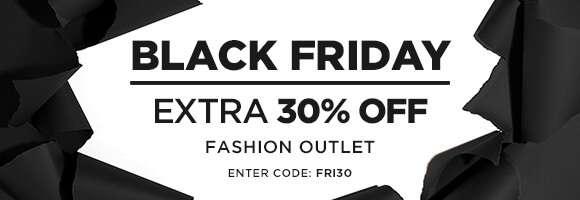 Extra 30% off OUTLET enter code FRI30