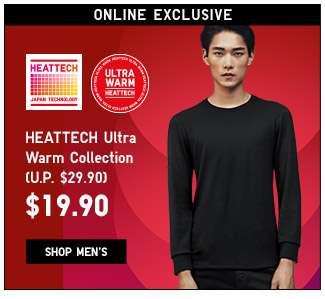 Shop HEATTECH Ultra Warm For Men