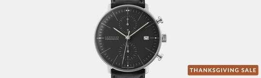 Junghans Max Bill Chronoscope Watch