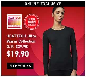 Shop HEATTECH Ultra Warm for Women