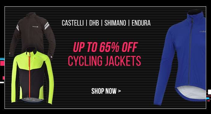 Up to 65% off Cycling Jackets