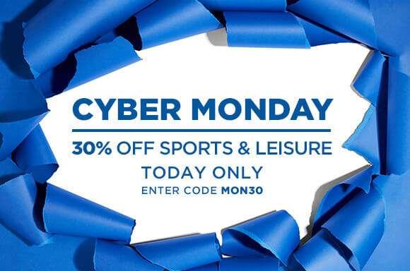 30% off Sport & Leisure