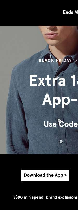 Extra 18% off. Use code 18BFCM. Shop now.