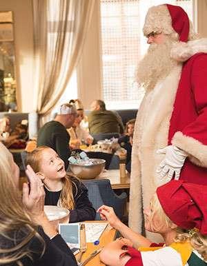 Breakfast with Santa at Selfridges Birmingham