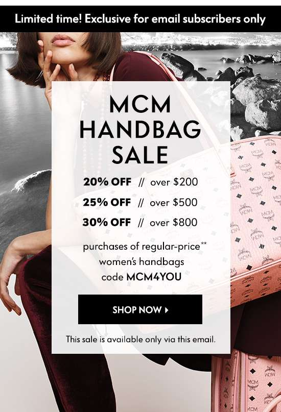 Shop MCM