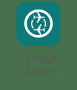 Through Check-in