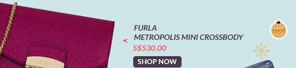 Shop Now: Furla Metropolis Mini Crossbody S$530.00
