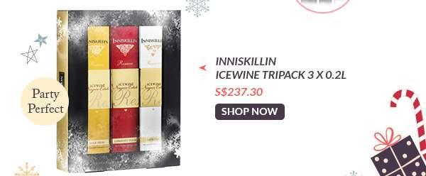 Shop Now: Inniskillin Icewine Tripack 3 X 0.2L S$237.30