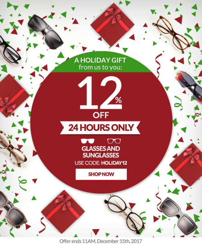 Our gift to you: 12% off sitewide, for the gifts you'll give this holiday season ðŸŽ