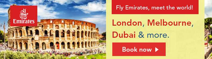 Fly Emirates, meet the world!