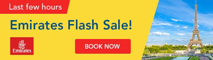 Last few hours: Emirates Flash Sale