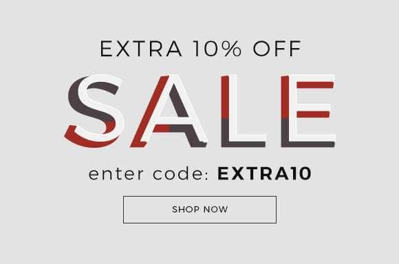 Extra 10 Off SALE Enter Code EXTRA10