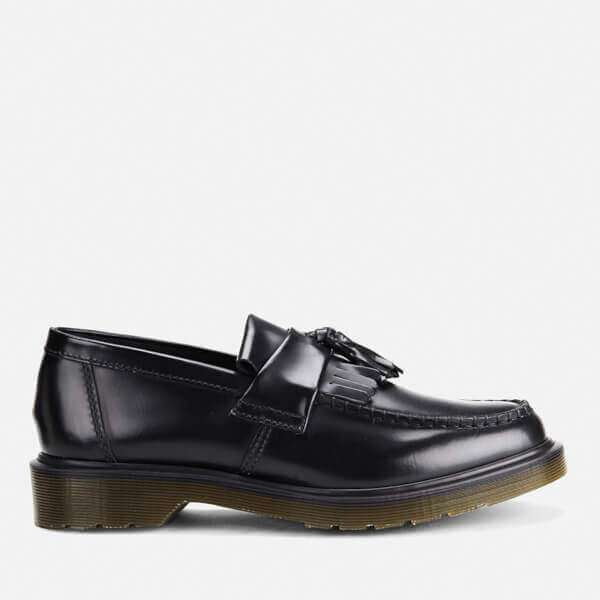 Adrian Polished Smooth Leather Tassle Loafers