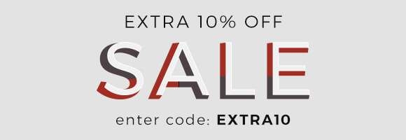 Extra 10% off SALE Enter code EXTRA10