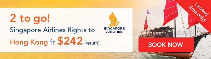 Singapore Airlines 2 to go!