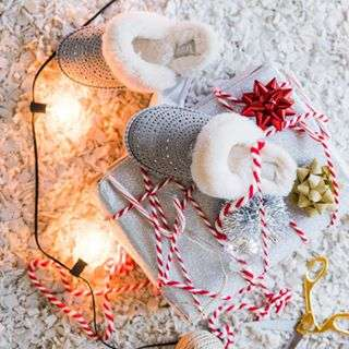 Never too late for gifts. Link in bio to shop all the sparkly things. #UGGLife