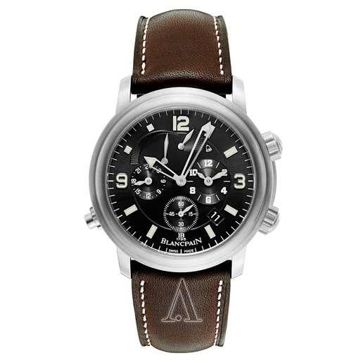 Men's  Blancpain Leman GMT Alarm Watch