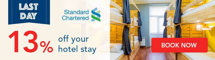 Last Day: 13% off your hotel stay