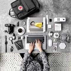Here's to a productive start to the week! #mondaymotivation #dailygrind #mykanken #kanken #fjallraven 📷: @agiputraaspian