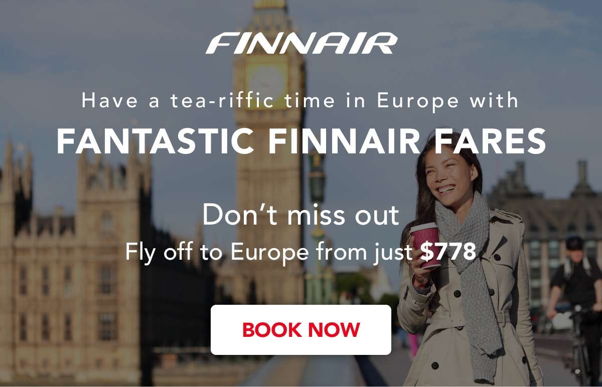 Have a tea-riffic time in Europe with our Finnair Fares
