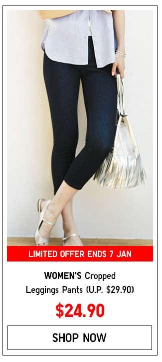 Shop Women's Cropped Leggings Pants