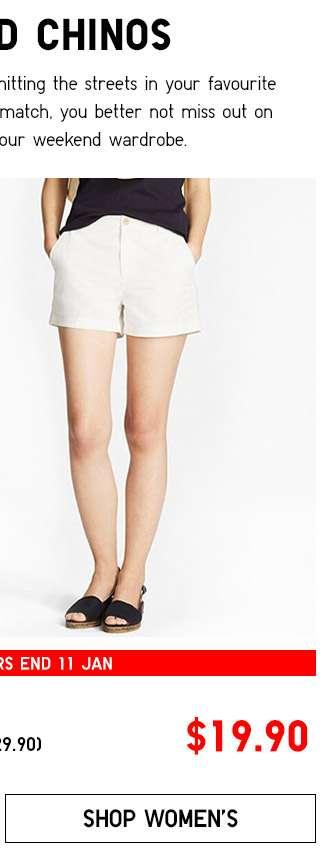 Shop Women's Chino Shorts