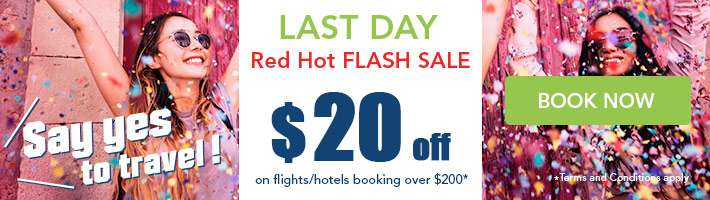 Red Hot Flash Sale $20 off