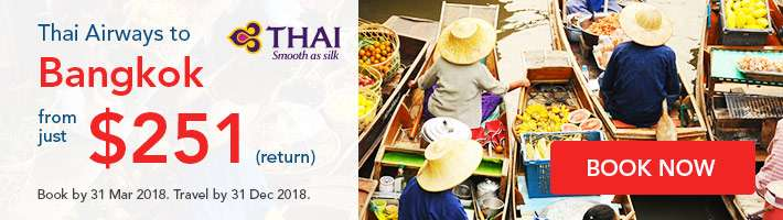 Unbeatable Discounts on Thai Airways Flights
