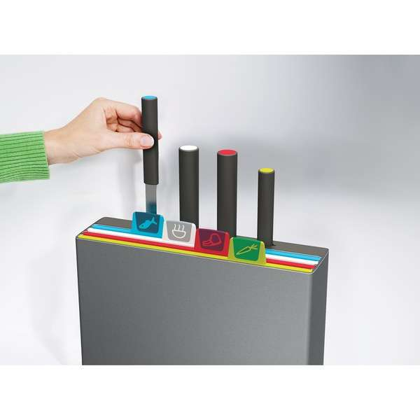 Joseph Joseph Index Chopping Board with Knives: Image 11