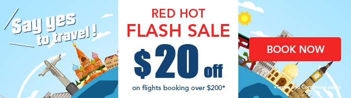 ZUJI exclusive: $20 off $200 Flights!