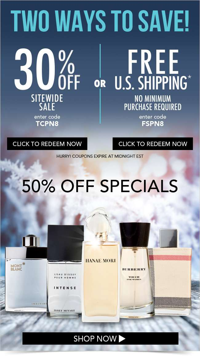30% OFF. FREE Shipping. Ends Tonight.