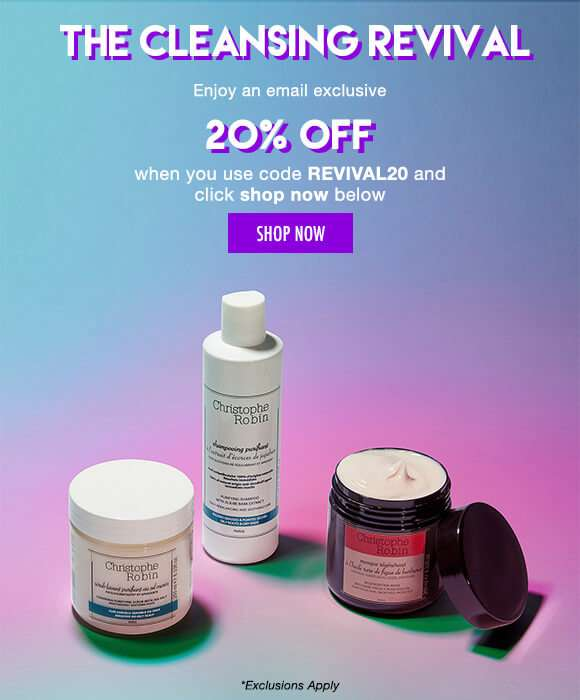 the Cleansing Revival | Enjoy 20% off when you use code REVIVAL20 and click shop now below. SHOP NOW *Exclusions Apply