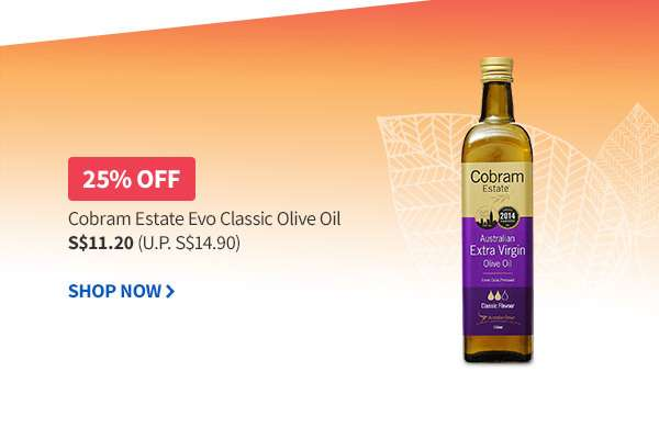 Extra Virgin Olive Oil at 25% OFF