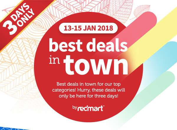 Best deals in town on our top categories, 3 days only!