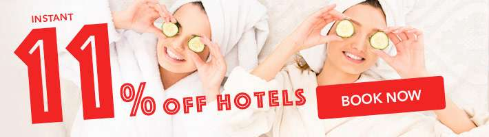 11% off your hotel stay