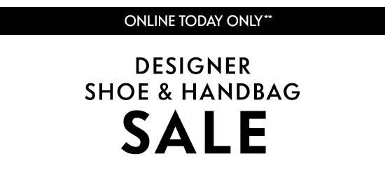 Shoe & Handbag Sale